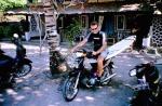 Surftrip Indonesien Motorrad